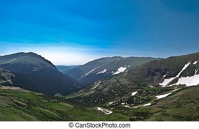 Rocky Mountains Colorado - Top of Rocky Mountains Colorado