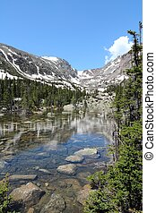 Rocky Mountains Colorado - Rocky Mountain National Park in...