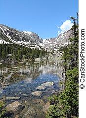 Rocky Mountains Colorado - Rocky Mountain National Park in...