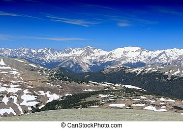 Rocky Mountains, Colorado - Rocky Mountain National Park in...