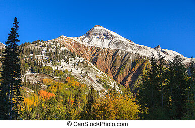 Rocky Mountains in Fall