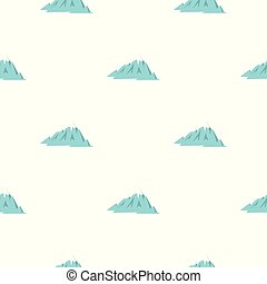 Rocky Mountains pattern seamless for any design vector...