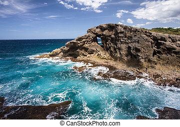 Puerto Rico Coast - Rocky Puerto Rico Coast