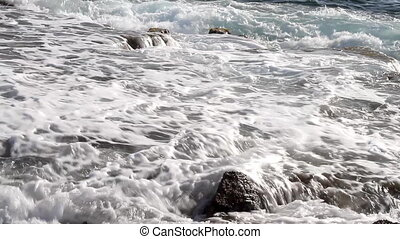 rocky sea coast 02
