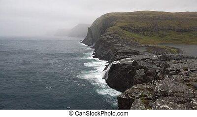 Rocky seashore landscape - Amazing landscape of the rocky...