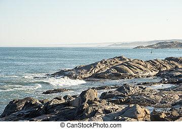 Rocky Shore at Shark Island