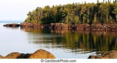 Rocky Shore, Grand Marais, Minnesota
