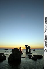 Rocky sunset 4
