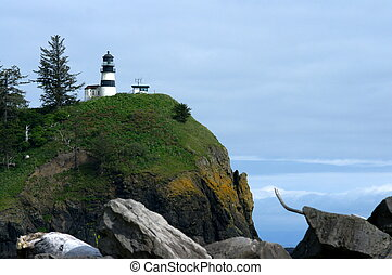Rocky View of Cape Disappointment