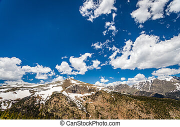 rocoso, parque nacional, montaña