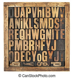 rocznik wina, alfabet, beletrystyka