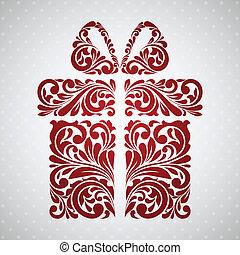 rocznik wina, box., dar, dekoracyjny