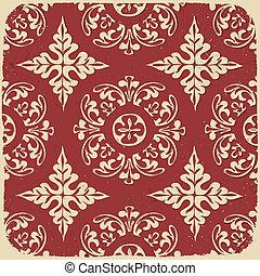 rocznik wina, eps10., pattern., tło, wektor, grungy