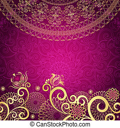 rocznik wina, gold-purple, ułożyć