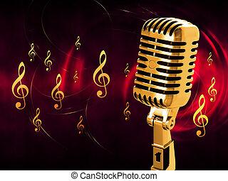 rocznik wina, mikrofon