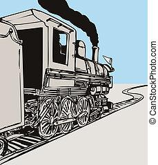 rocznik wina, pociąg
