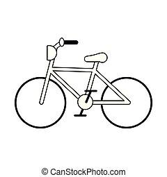 rocznik wina, rower, symbol, czarnoskóry i biały