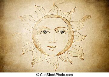 rocznik wina, słońce