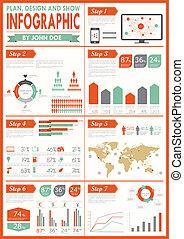 rocznik wina, set., infographics