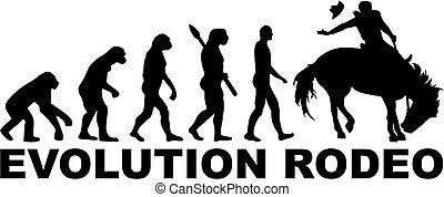 rodéo, évolution