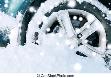 roda, car, closeup
