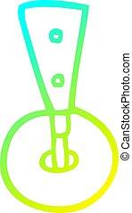 roda, caster, gradiente, caricatura, forre desenho, gelado