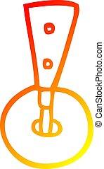 roda, gradiente, desenho, morno, caster, linha, caricatura