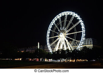 roda, paris), de, ferris, (roue, paris