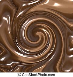 rodar, chocolate