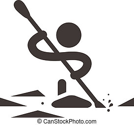 rodd, canoeing, ikon
