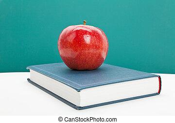 rode appel, en, schoolboek