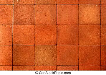 rode baksteen, wal