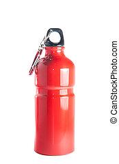 rode fles, sporten