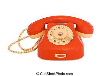 rode telefoon