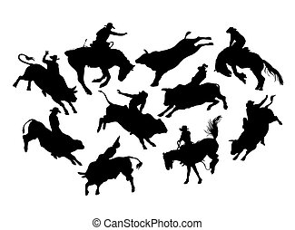 Rodeo Activity - Rodeo cowboy Action and Activity...
