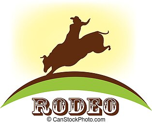 Rodeo country logo