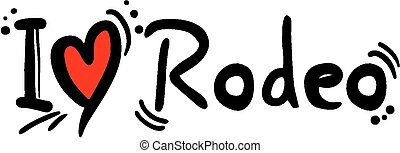 Rodeo love - Creative design of Rodeo love