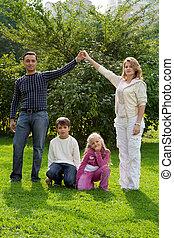 rodiče, děti, rukopis