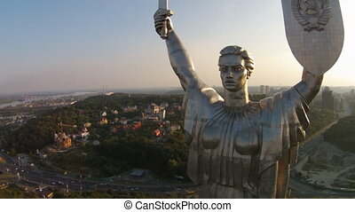 Rodina mat', Ukraine - The Motherland Monument or, and more...