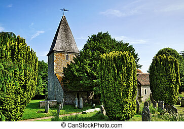Rodmell Church in East Sussex - St Peters Church a historic...