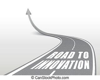 rodovia, palavras, estrada, inovação