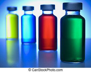 roeien, van, vials