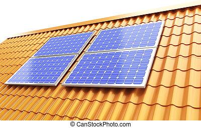 rof solar panel