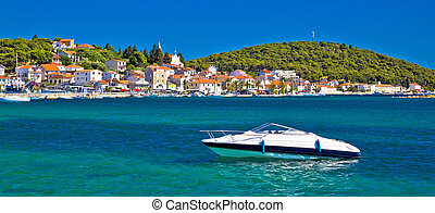 Rogoznica turquoise coast tourist destination