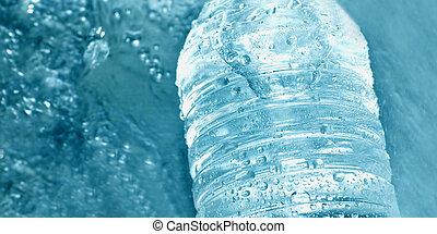 rohanás, közül, víz