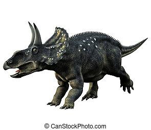 rohatý, dinosaurus