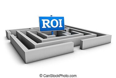 Roi Business And Investment Concept