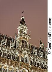 roi, du, belgium., bruselas, maison