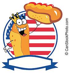 roi, hot-dog