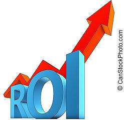 ROI icon - high resolution rendering of a ROI icon